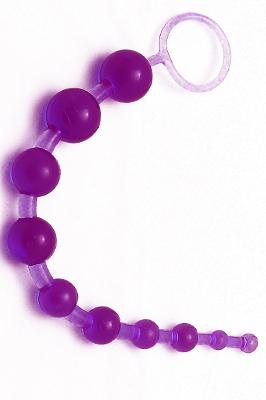 Anální kuličky - fialové