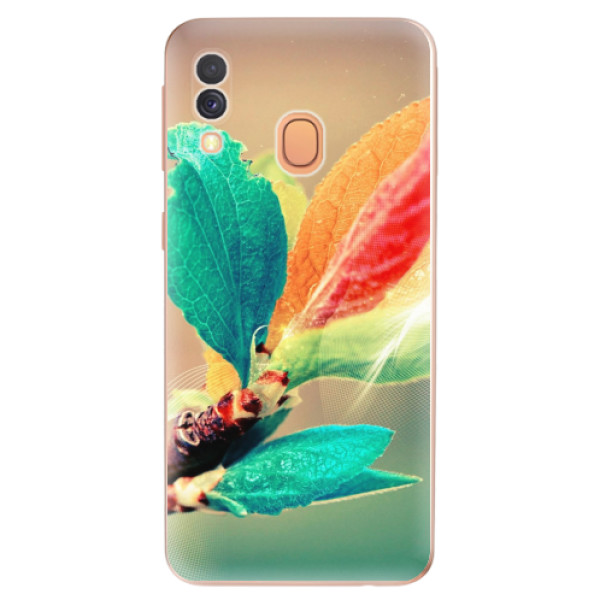 Odolné silikonové pouzdro iSaprio - Autumn 02 - Samsung Galaxy A40