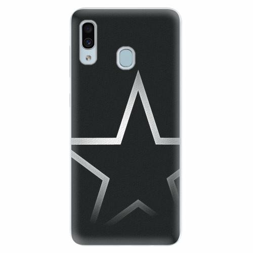 Silikonové pouzdro iSaprio - Star - Samsung Galaxy A30