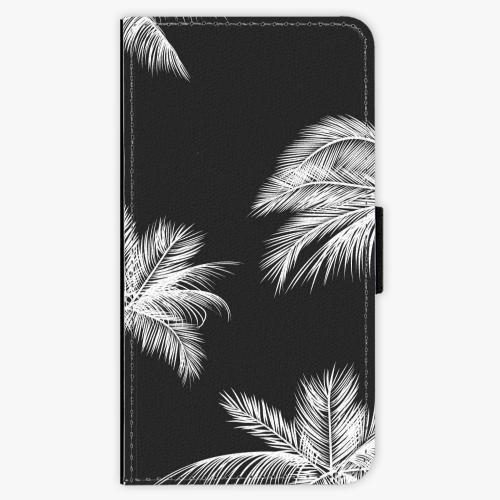 Flipové pouzdro iSaprio - White Palm - Samsung Galaxy J1 2016