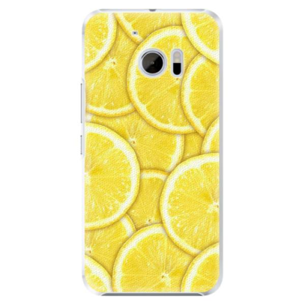 Plastové pouzdro iSaprio - Yellow - HTC 10