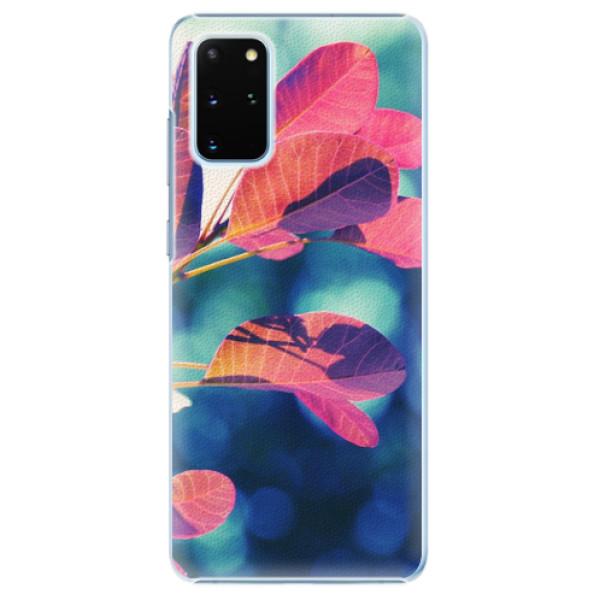 Plastové pouzdro iSaprio - Autumn 01 - Samsung Galaxy S20+