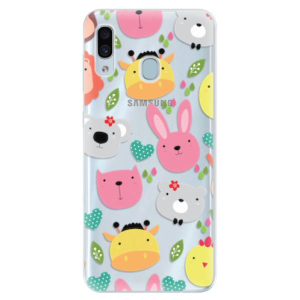 Silikonové pouzdro iSaprio - Animals 01 - Samsung Galaxy A30