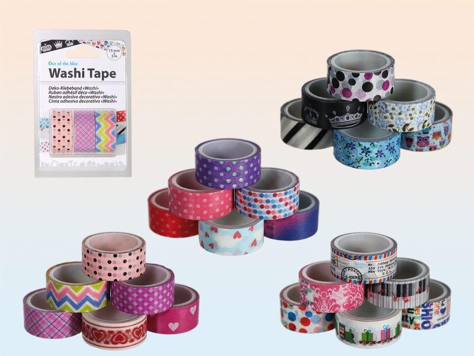 Dekorační pásky Washi