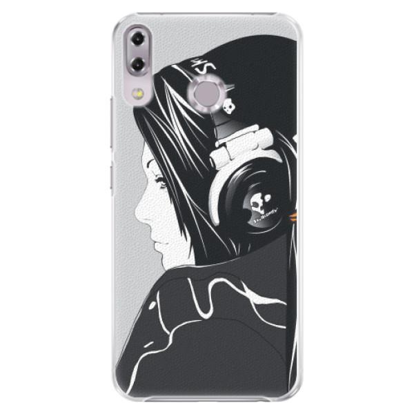 Plastové pouzdro iSaprio - Headphones - Asus ZenFone 5Z ZS620KL