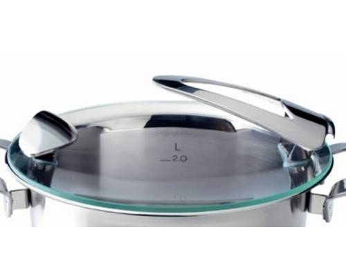 Poklice pro varné nádobí Solea® - O 20 cm, sklo - Fissler + dárek k nákupu
