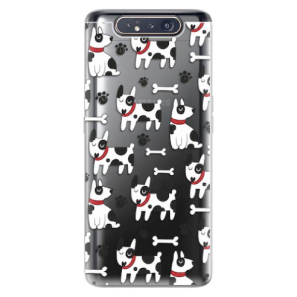Odolné silikonové pouzdro iSaprio - Dog 02 - Samsung Galaxy A80