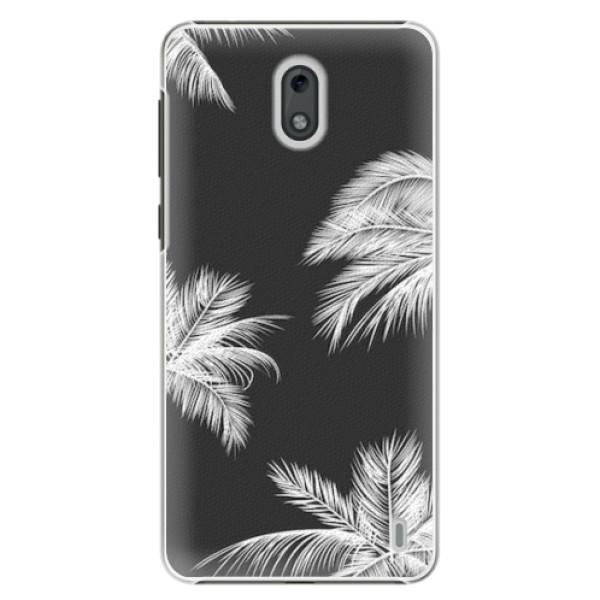 Plastové pouzdro iSaprio - White Palm - Nokia 2