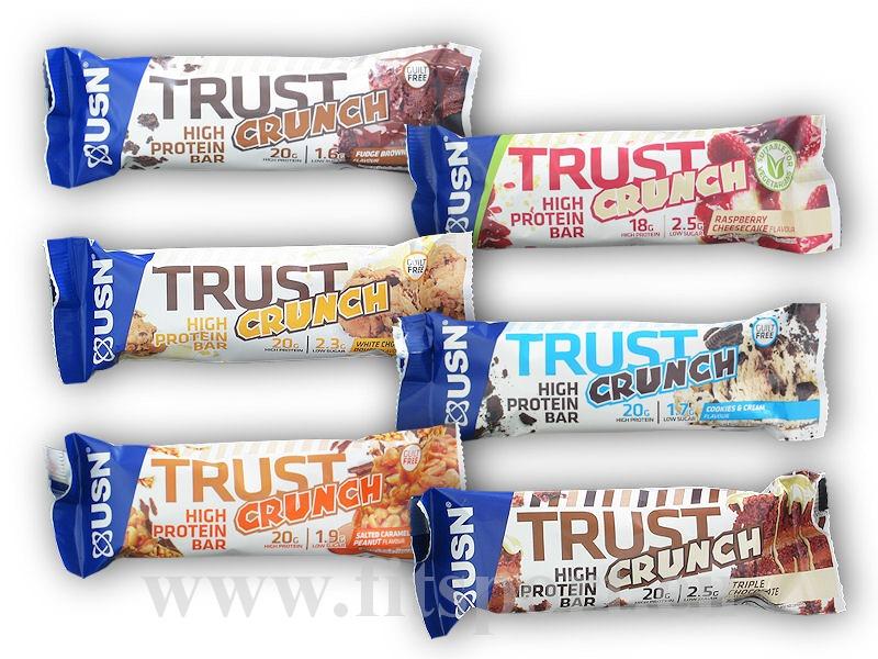 Trust Crunch Protein Bar