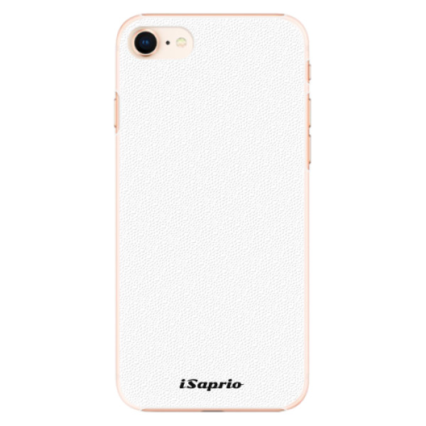 Plastové pouzdro iSaprio - 4Pure - bílý - iPhone 8