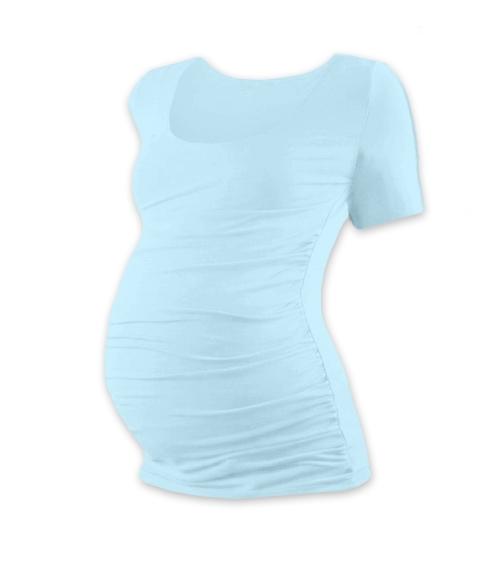 jozanek-tehotenske-triko-kratky-rukav-johanka-svetle-modra-s-m