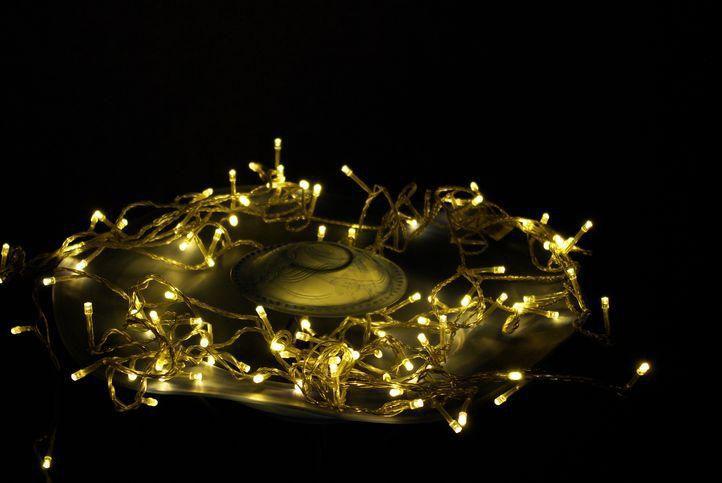 Garth vánoční LED řetěz - 10 m, 100 diod, teple bílý