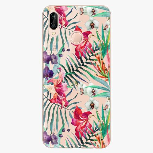 Plastový kryt iSaprio - Flower Pattern 03 - Huawei P20 Lite