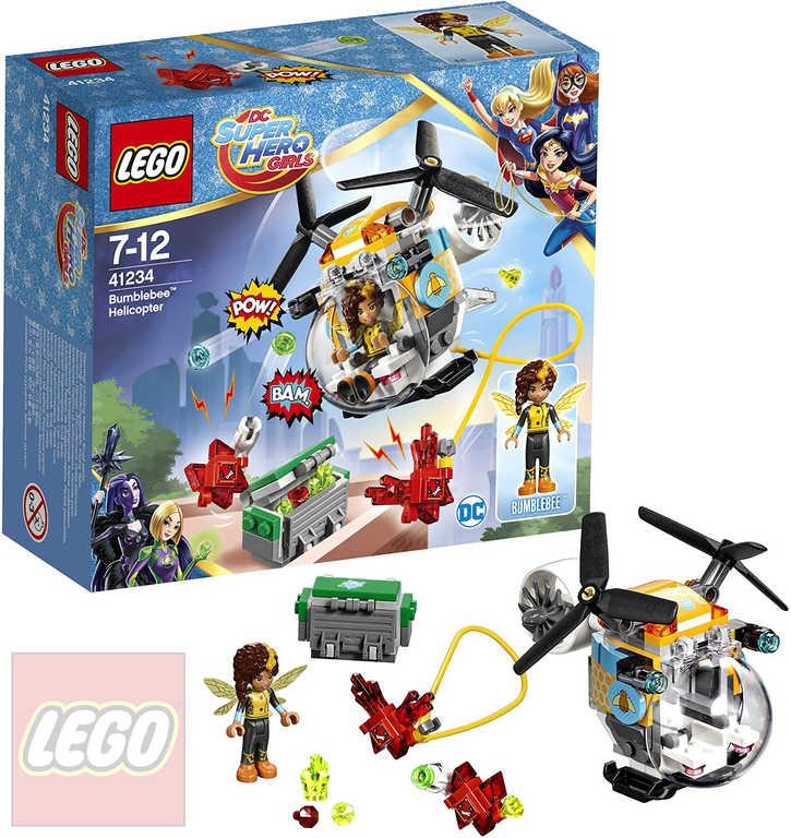 LEGO SUPER HEROES Bumblebee a helikoptéra 41234 STAVEBNICE