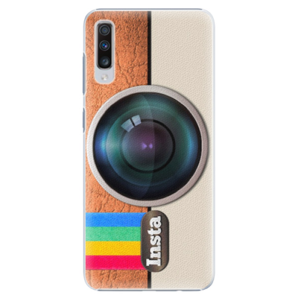 Plastové pouzdro iSaprio - Insta - Samsung Galaxy A70