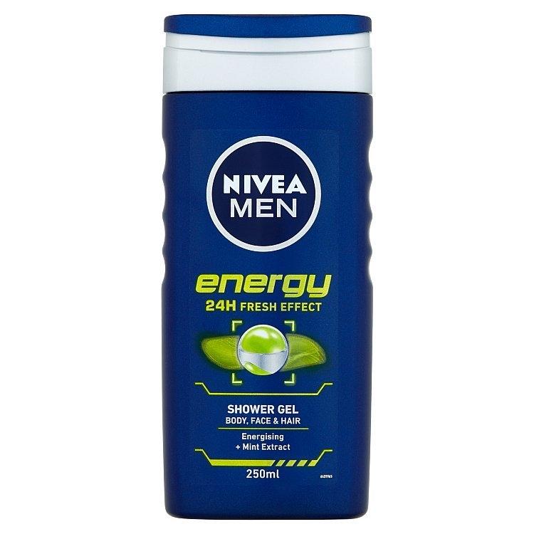 Men Energy sprchový gel na tělo, tvář a vlasy 250 ml