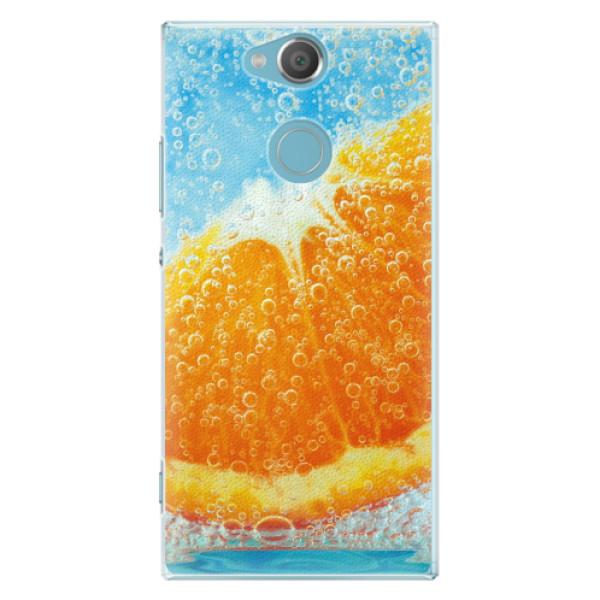 Plastové pouzdro iSaprio - Orange Water - Sony Xperia XA2