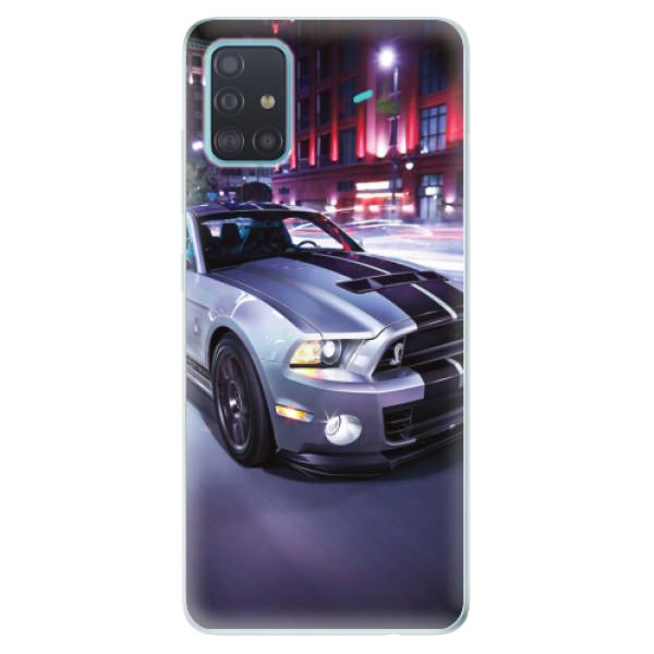 Odolné silikonové pouzdro iSaprio - Mustang - Samsung Galaxy A51