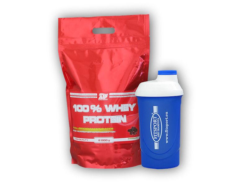 100% Whey Protein 2000g + šejkr