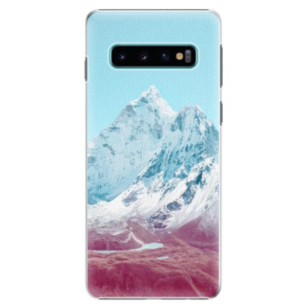 Plastové pouzdro iSaprio - Highest Mountains 01 - Samsung Galaxy S10