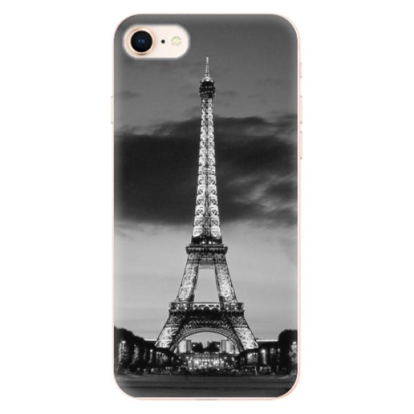 Odolné silikonové pouzdro iSaprio - Midnight in Paris - iPhone 8