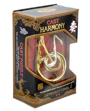 ALBI Hlavolam Hanayama Gold - Harmony