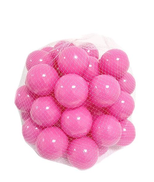 Baby Nellys Náhradní balónky do bazénu - 200ks, růžová