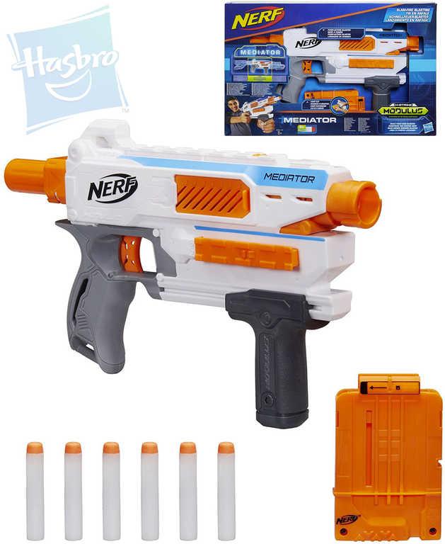 HASBRO NERF MODULUS N-Strike Mediator set blaster s náboji a doplňky