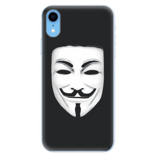 Odolné silikonové pouzdro iSaprio - Vendeta - iPhone XR