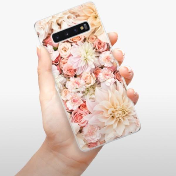 Odolné silikonové pouzdro iSaprio - Flower Pattern 06 - Samsung Galaxy S10+