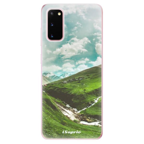 Odolné silikonové pouzdro iSaprio - Green Valley - Samsung Galaxy S20
