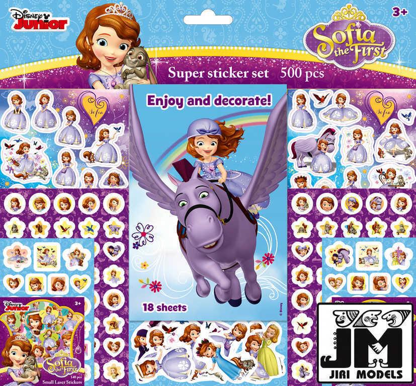 JIRI MODELS Samolepkový set 500ks Disney Sofie První