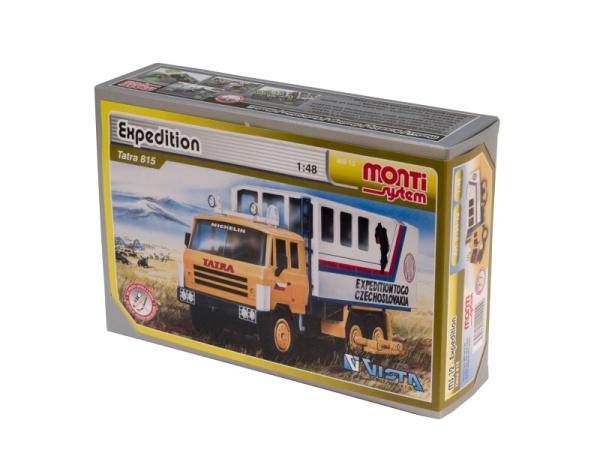 MONTI SYSTÉM 12 Auto Tatra EXPEDITION stavebnice MS12 0104-12
