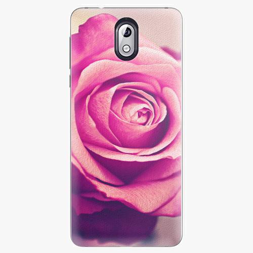 Plastový kryt iSaprio - Pink Rose - Nokia 3.1
