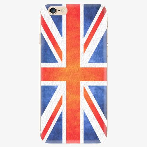 Silikonové pouzdro iSaprio - UK Flag - iPhone 6/6S