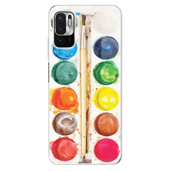 Odolné silikonové pouzdro iSaprio - Watercolors - Xiaomi Redmi Note 10 5G
