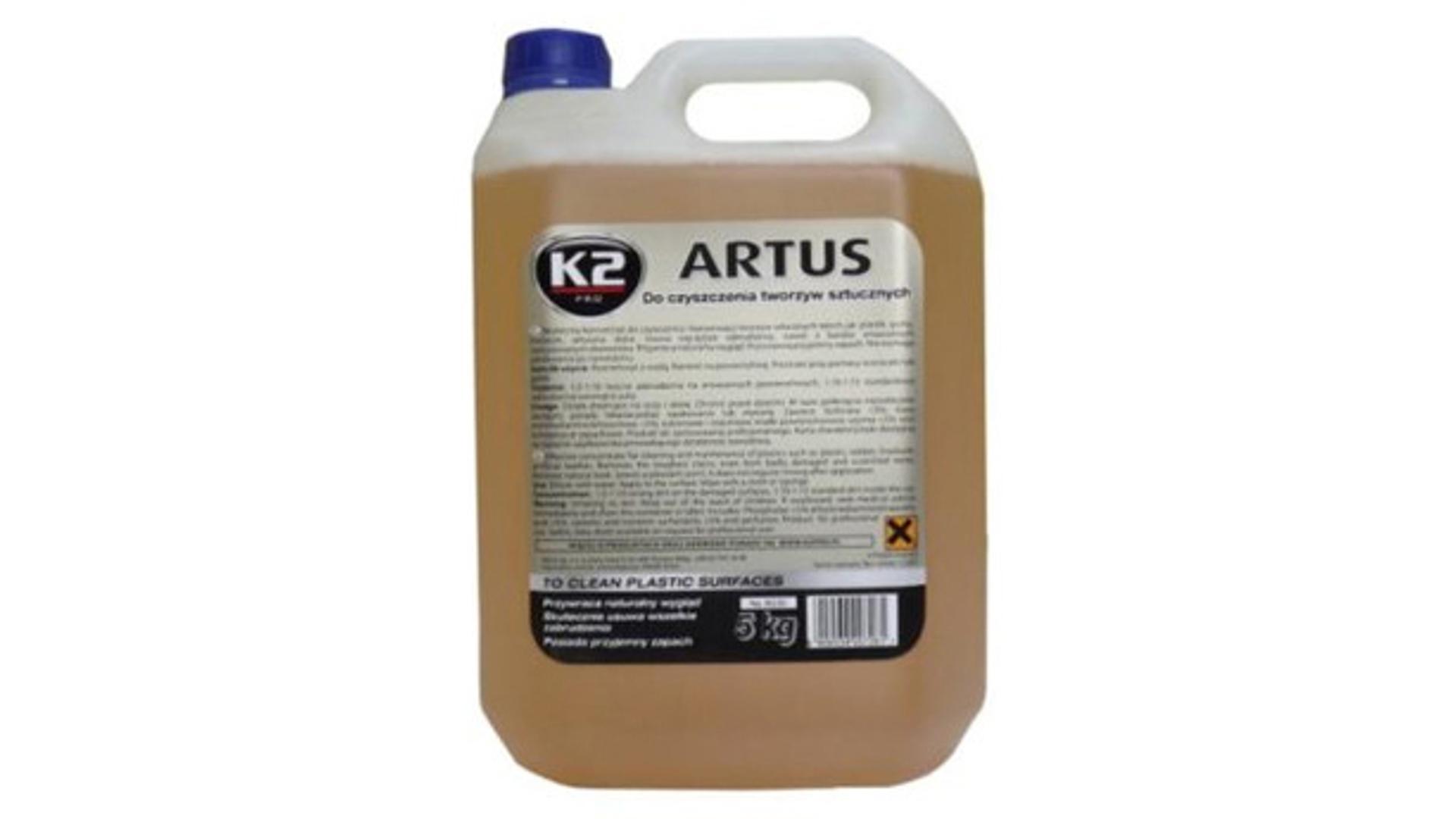 K2 ARTUS 5kg - čistič plastu