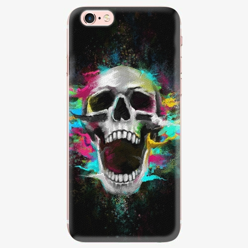 Silikonové pouzdro iSaprio - Skull in Colors - iPhone 7