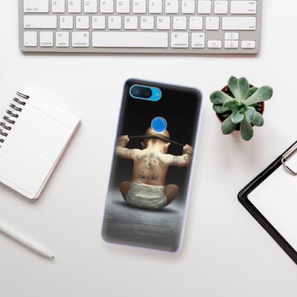Odolné silikonové pouzdro iSaprio - Crazy Baby - Xiaomi Mi 8 Lite