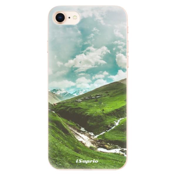 Odolné silikonové pouzdro iSaprio - Green Valley - iPhone 8