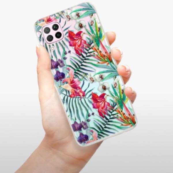 Odolné silikonové pouzdro iSaprio - Flower Pattern 03 - Huawei P40 Lite