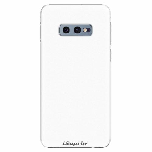 Plastový kryt iSaprio - 4Pure - bílý - Samsung Galaxy S10e