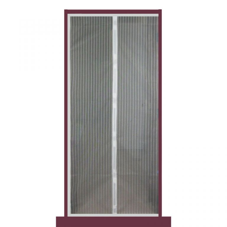 Moskytiéra do dveří s magnetky, 210 x 100 cm
