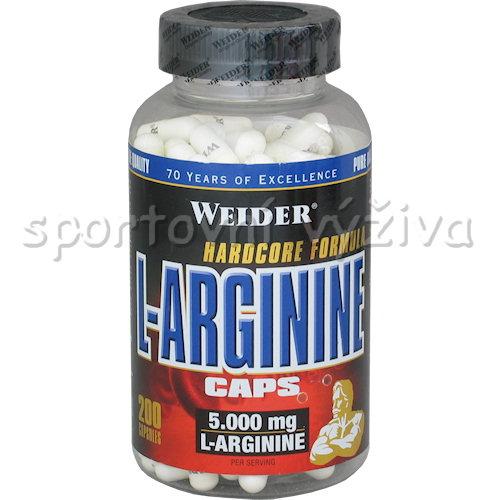 L-Arginine 200 kapslí