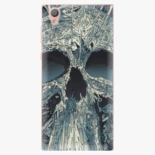 Plastový kryt iSaprio - Abstract Skull - Sony Xperia L1
