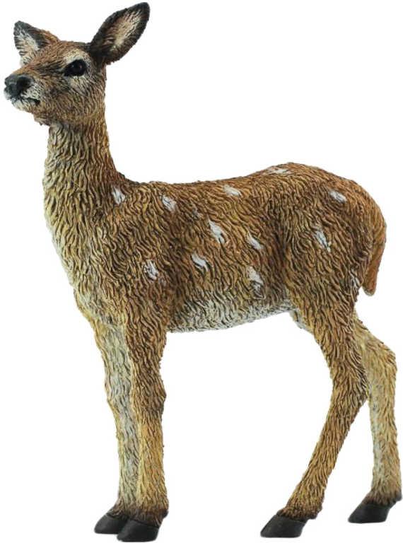 Figurka zvířátko lesní / domácí 5cm ručně malované různé druhy pryž