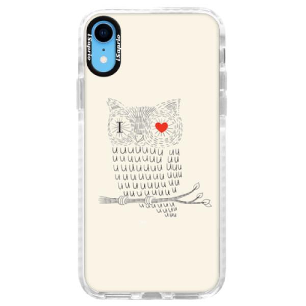 Silikonové pouzdro Bumper iSaprio - I Love You 01 - iPhone XR