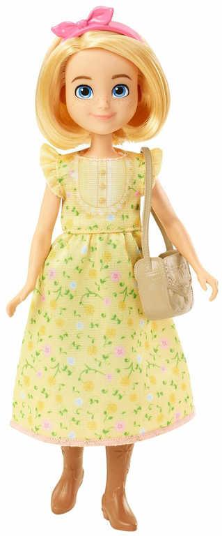 MATTEL SPIRIT Veselá panenka kloubová 18cm set s oblečky a doplňky