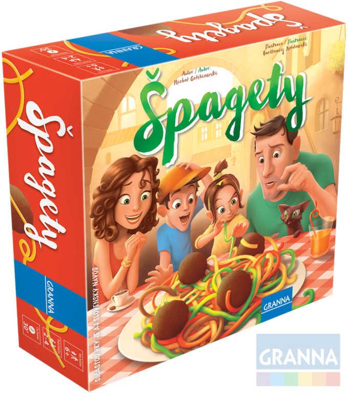 GRANNA Hra Špagety *SPOLEČENSKÉ HRY*