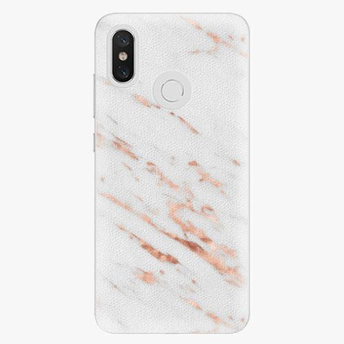 Plastový kryt iSaprio - Rose Gold Marble - Xiaomi Mi 8
